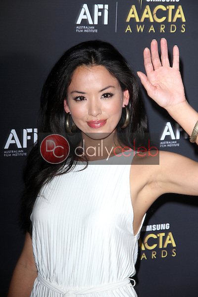 Stephanie Jacobsen<br /> at the Australian Academy Of Cinema And Television Arts' 1st Annual Awards, Soho House, West Hollywood, CA 01-27-12<br /> David Edwards/DailyCeleb.com 818-249-4998