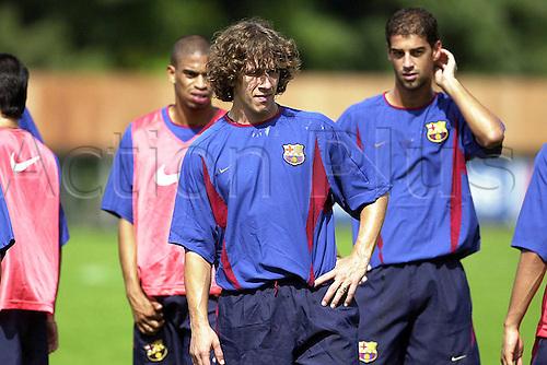 23.09.2002  Carles Puyol (Barca) Training