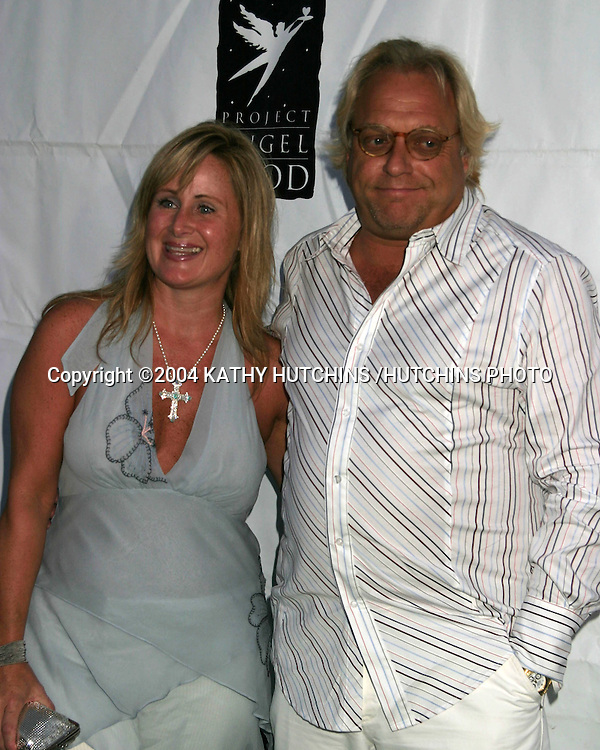 ©2004 KATHY HUTCHINS /HUTCHINS PHOTO.PROJECT ANGEL FOOD GALA IN HONOR OF SHARON STONE.LOS ANGELES, CA.AUGUST 21, 2004..KELLY STONE AND HUSBAND