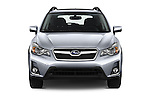 Car photography straight front view of a 2016 Subaru Crosstrek Hybrid-Touring 5 Door SUV Front View
