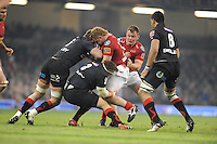 Millennium stadium, Scarlets v NGD RaboDirect PRO12 rugby Judgement Day, Saturday 30th March 2013, Cardiff, Wales. action during the Scarlets v Newport Gwent Dragons RaboDirect PRO12 rugby match. Mandatory credit for pictures used to-Jeff Thomas Photography-www.jaypics.photoshelter.com-07837 386244
