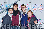 Luna Ryan, Luis O'Shea, Marc Dalton and Allanah Tanner Killarney  at the Killarney on Ice on Saturday