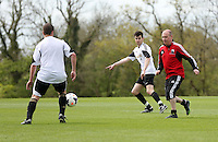 Pictured: Jack Wells and Jonathan Wilsher. Tuesday 06 May 2014<br />