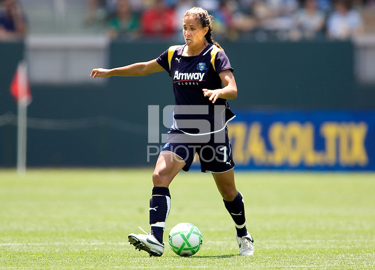LA Sol's Shannon Boxx. The Boston Breakers and LA Sol played to a 0-0 draw at Home Depot Center stadium in Carson, California on Sunday May 10, 2009.   .