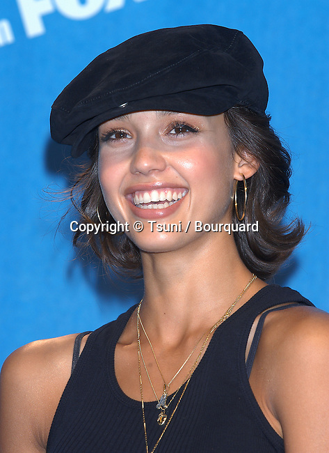 Jessica Alba backstage at the Teen Choice Awards 2002 held at the Universal Amphitheatre in Los Angeles, Ca., August 4, 2002.