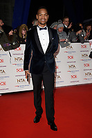 Johannes Radebe<br /> arriving for the National TV Awards 2019 at the O2 Arena, London<br /> <br /> ©Ash Knotek  D3473  22/01/2019