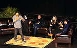 On Stage - The Young and The Restless - Genoa City Live celebrating over 40 years  with Eric Braeden, Joshua Morrow, Melissa Ordway and Robert Adamson on February 20, 2016 at the Wellmont Theatre, Montclair, NJ. on stage with questions and answers hosted by Christian and Sean followed with autographs and photos in the theater.  (Photo by Sue Coflin/Max Photos)