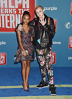 HOLLYWOOD, CA - NOVEMBER 05: Skai Jackson, Russell Horning attends the Premiere Of Disney's 'Ralph Breaks The Internet' at the El Capitan Theatre on November 5, 2018 in Los Angeles, California.<br /> CAP/ROT/TM<br /> &copy;TM/ROT/Capital Pictures