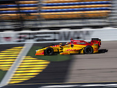 Verizon IndyCar Series<br /> Iowa Corn 300<br /> Iowa Speedway, Newton, IA USA<br /> Saturday 8 July 2017<br /> Ryan Hunter-Reay, Andretti Autosport Honda<br /> World Copyright: Michael L. Levitt<br /> LAT Images
