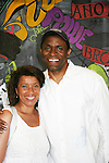 "All My Children's Jerome Preston Bates ""Derek Frye"" came to see Kim Yancey-Moore (in all the NY soaprs) star in Long Time Since Yesterday on June 19, 2010 which is a part of the Great Black Plays & Playwrights Reading Series held at the Castillo Theatre, New York City, New York. (Photo by Sue Coflin/Max Photos)"