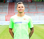 06.07.2019, Stadion an der Wuhlheide, Berlin, GER, 2.FBL, 1.FC UNION BERLIN , Mannschaftsfoto, Portraits, <br /> DFL  regulations prohibit any use of photographs as image sequences and/or quasi-video<br /> im Bild Rafael Gikiewicz (1.FC Union Berlin #1)<br /> <br /> <br />      <br /> Foto © nordphoto / Engler