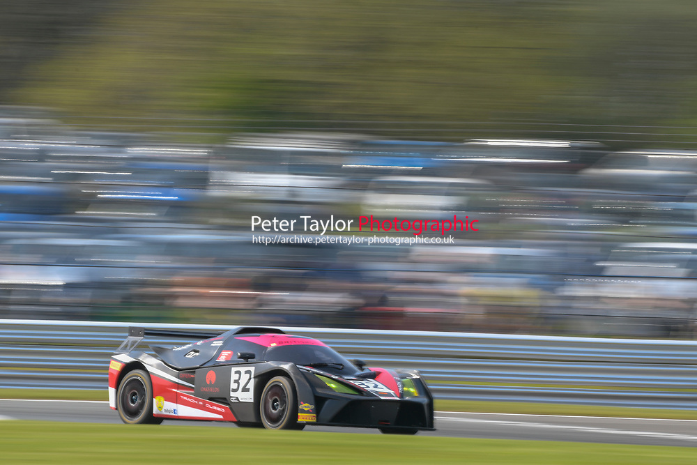 #32 Mike McCollum / Sean Cooper Track Focused KTM X-Bow GT4 Pro/Am GT4 during British GT Championship race one as part of the British F3 / GT Championship at Oulton Park, Little Budworth, Cheshire, United Kingdom