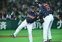 Osamu Higashio (JPN), .FEBRUARY 28, 2013 - WBC : .2013 World Baseball Classic .Exhibithion Game .between Tokyo Yomiuri Giants 1-6 Japan .at Yafuoku Dome, Fukuoka, Japan. .(Photo by YUTAKA/AFLO SPORT)