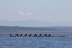Port Townsend, Rat Island Regatta, rowers, kayakers, standup paddlers, racing, Sweet 16; Wooden Oct, Bow 23, Sound Rowers, Rat Island Rowing Club, Puget Sound, Olympic Peninsula, Washington State, water sports, rowing, kayaking, competition,