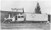 RGS Goose #4 in Durango.<br /> RGS  Durango, CO  Taken by Darrell, Paul - 7/18/1939