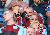Burnley fans enjoy the pre-match atmosphere <br /> <br /> Photographer Alex Dodd/CameraSport<br /> <br /> UEFA Europa League - UEFA Europa League Qualifying Second Leg 2 - Burnley v Olympiakos - Thursday August 30th 2018 - Turf Moor - Burnley<br />  <br /> World Copyright © 2018 CameraSport. All rights reserved. 43 Linden Ave. Countesthorpe. Leicester. England. LE8 5PG - Tel: +44 (0) 116 277 4147 - admin@camerasport.com - www.camerasport.com
