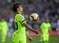 Sergi Roberto of FC Barcelona during the match between CD Leganes v FC Barcelona of LaLiga, date 6, 2018-2019 season. Municipal de Butarque Stadium. Madrid, Spain - 26 SEP 2018.
