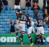 GOAL - Millwall's Jed Wallace opens the scoring during the Sky Bet Championship match between Millwall and Ipswich Town at The Den, London, England on 15 August 2017. Photo by Carlton Myrie.