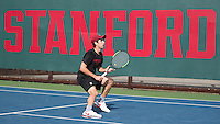 Stanford Tennis M vs Saint Mary's, February 12, 2017
