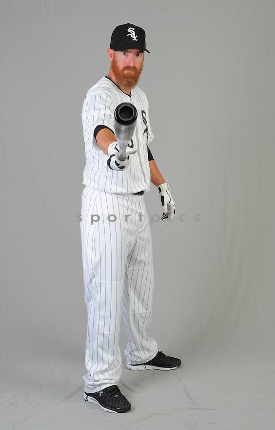 Chicago White Sox Adam LaRoche (25) during photo day on February 28, 2015 in Glendale, AZ.