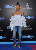 """01 August 2016 - Hollywood, California. Garcelle Beauvais. World premiere of """"Nine Lives"""" held at the TCL Chinese Theatre. Photo Credit: Birdie Thompson/AdMedia"""