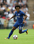 Chelsea's Willian in action during the premier league match at the Wembley Stadium, London. Picture date 20th August 2017. Picture credit should read: David Klein/Sportimage