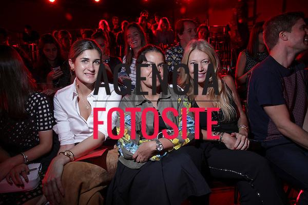 B&aacute;rbara Le&atilde;o, Daniela Falc&atilde;o e Donata Meirelles <br /> <br /> Alexandre Herchcovitch<br /> <br /> S&atilde;o Paulo Fashion Week- Ver&atilde;o 2016<br /> Abril/2015<br /> <br /> foto: Midori de Lucca/ Ag&ecirc;ncia Fotosite