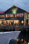 Mures seafood restaurant on Victoria Dock.  Sullivans Cove, Hobart, Tasmania, AUSTRALIA