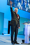 © Joel Goodman - 07973 332324 . 22/09/2013 . Brighton , UK . CARWYN JONES , First Minister of Wales , speaks during the Welsh Report session this afternoon (Sunday 22nd September 2013) . Day 1 of the Labour Party 's annual conference in Brighton . Photo credit : Joel Goodman