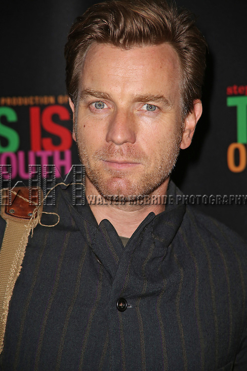 Ewan MacGregor attends the Broadway Opening Night Performance of 'This Is Our Youth' at the Cort Theatre on September 11, 2014 in New York City.