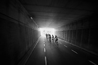 tunnel vision<br /> <br /> Eneco Tour 2013<br /> stage 3: Oosterhout - Brouwersdam (187km)