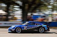 2017 Porsche GT3 Cup USA<br /> Sebring International Raceway, Sebring, FL USA<br /> Friday 17 March 2017<br /> 47, Andrew Longe, GT3P, USA, 2017 Porsche 991<br /> World Copyright: Jake Galstad/LAT Images<br /> ref: Digital Image lat-galstad-SIR-0317-14689