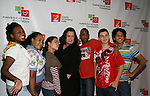 Rosie O'Donnell and Broadway Kids at the Rosie's For All Kids Foundation and Rosie's Broadway Kids were created because of Rosie's love of children and the knowledge that one person can make a difference in the life of a child on Nov. 24. 2008 at the New York Marriott Marquis, NYC, (Photo by Sue Coflin/Max Photos)