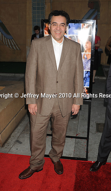 "HOLLYWOOD, CA. - April 19: Writer/Director Rodrigo Garcia arrives at the Los Angeles Premiere of ""Mother And Child"" at the Egyptian Theatre on April 19, 2010 in Hollywood, California."
