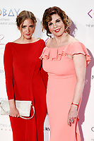 Belinda Washington and her daughter Andrea Lazaro attends the photocall of the second Global Gift gala at the Royal Theater in Madrid, Spain. April 04, 2017. (ALTERPHOTOS / Rodrigo Jimenez)