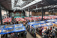 Great Britain, England, London: Old Spitalfields Market | Grossbritannien, England, London: Old Spitalfields Market, traditionsreicher Obst- und Gemuesemarkt