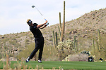 Luke Donald (ENG) in action on the 13th tee during Day 3 of the Accenture Match Play Championship from The Ritz-Carlton Golf Club, Dove Mountain, Friday 25th February 2011. (Photo Eoin Clarke/golffile.ie)