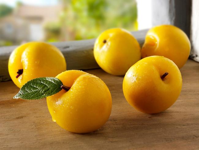 British fruit  - Golden plums