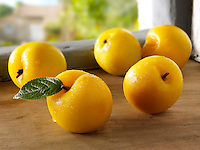 British fruit  - Golden plums
