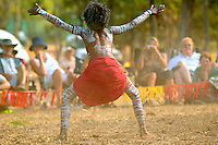 Woorabinda Dancer 1,  Laura Aboriginal Dance Festival, Laura, Cape York Peninsula, Queensland, Australia.