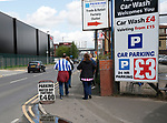 Match parking for fans during the English Championship play-off 1st leg match at the John Smiths Stadium, Huddersfield. Picture date: May 13th 2017. Pic credit should read: Simon Bellis/Sportimage