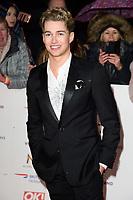 AJ Pritchard<br /> arriving for the National TV Awards 2019 at the O2 Arena, London<br /> <br /> ©Ash Knotek  D3473  22/01/2019