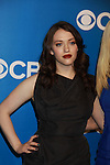 Two Broke Girls - Kat Dennings - CBS Upfront 2012 at the Tent in Lincoln Center, New York City, New York. (Photo by Sue Coflin/Max Photos)