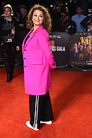 "Nadia Sawalaha<br /> arriving for the ""Knives Out"" screening as part of the London Film Festival 2019 at the Odeon Leicester Square, London<br /> <br /> ©Ash Knotek  D3524 08/10/2019"