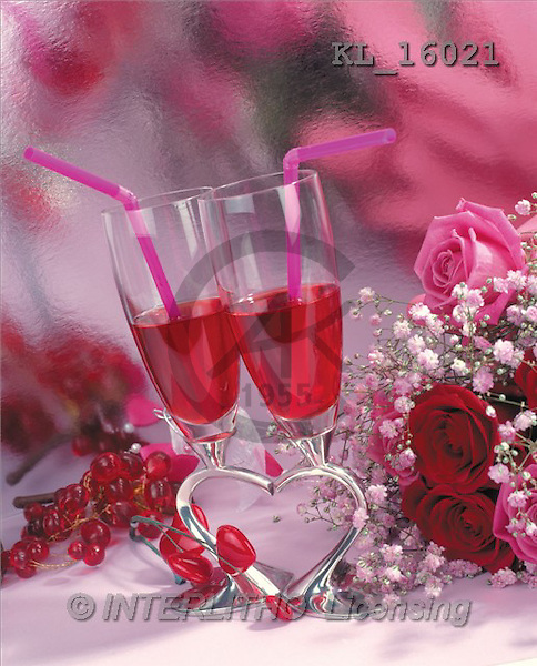 Interlitho, Alberto, VALENTINE, photos, glasses, heart, roses(KL16021,#V#)