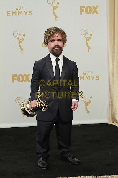 20 September 2015 - Los Angeles, California -  Peter Dinklage. 67th Annual Primetime Emmy Awards Press Room held at Microsoft Theater. <br /> CAP/ADM/THB<br /> &copy;THB/ADM/Capital Pictures