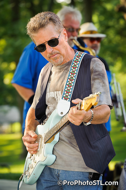 Johnny Rivers & Butch Wax and The Hollywoods in concert in Gentry Park in Bridgeton on July 17, 2011.