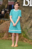 "Ruby Barnhill<br /> arrives for the ""BFG"" premiere at the Odeon Leicester Square, London.<br /> <br /> <br /> ©Ash Knotek  D3141  17/07/2016"