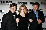 Chris Carmack, Jan Maxwell and Alec Baldwin.Attending the Opening Night Party for The Roundabout Theatre Company's Production of  ENTERTAINING MR. SLOANE at the Laura Pels Theatre in New York City..March 16, 2006.© Walter McBride /