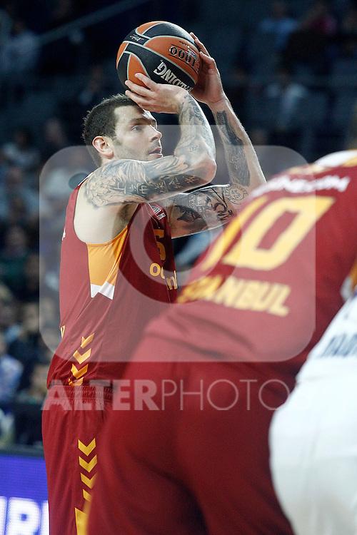 Galatasaray Odeabank Istambul's Vladimir Micov during Euroleague, Regular Season, Round 5 match. November 3, 2016. (ALTERPHOTOS/Acero)